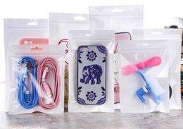 Weißer Reißverschlussverschluß Handyzubehörfallkopfhörereinkaufsverpackungstasche OPP PP PVC Poly-Plastikverpackungsbeutel