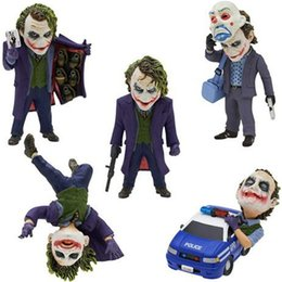 Female toy dolls online shopping - Batman Joker Exquisite Lovely Model Toy PVC Multi Function Doll Decoration Small Anti Wear Male Female Popular Present sf I1