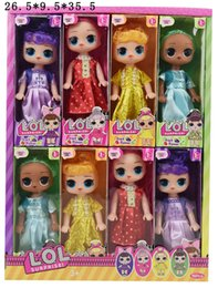 $enCountryForm.capitalKeyWord Australia - Hot 6 inch Classic lol doll with Fruity Aroma doll PVC Lovely Children Toys Anime Action Figures Realistic Reborn Dolls hottest toys LL408