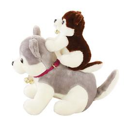 $enCountryForm.capitalKeyWord UK - 20170718 The Hot Sales Husky Stuffed Animals And Plush Toys Furry Dog Pillow Doll Cute Free Shipping