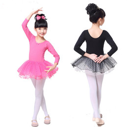 Wholesale ballet dance costumes for kids for sale - Group buy Girls Ballerina Ballet Dress Gymnastics Leotards Dance Tutu for Kid Professional Dance Costume Dancing Clothes Dots Dancer Wear