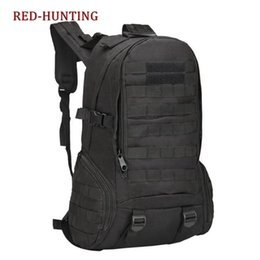 Discount fashion tactical backpacks Many Colors Available Hiking Bagpack Tactical Bag Molle800D Nylon Fashion Bags Camping Sightseeing cycling Backpack 35L