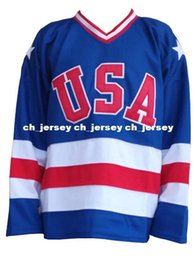 $enCountryForm.capitalKeyWord Australia - Cheap wholesale USA Team 1980 Hockey Jersey Miracle On Ice Team Blank Sewn Hockey Jersey Customize any name number MEN WOMEN YOUTH jersey
