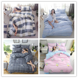 print microfiber duvet cover Australia - Modern Cute sweet series printing Bedding sets microfiber and soft Duvet Cover set Stunning Bedspread Single Twin king Size