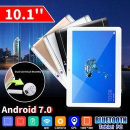 Discount inch kids tablet pc android 2020 New 10.1 inch 6G+128G Tablet PC Phablet Android 8.0 HD WIFI 2 SIM 4G Ten Core Phone Pad Metal Tablets for kid gifts