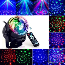 music activated laser light UK - Led Disco Light Stage Lights DJ Disco Ball Lumiere Sound Activated Laser Projector effect Lamp Light Music Christmas Party