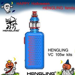 $enCountryForm.capitalKeyWord Australia - HENGLING top refill RTA sub ohm tank with mesh tank (0.1ohm-0.5ohm) 510 thread atomizer VC TANK+ 105w TC VW vape mods box kits E cigarette