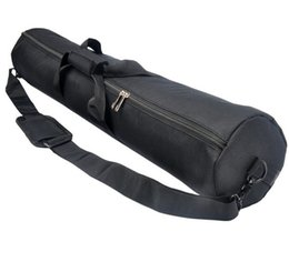 Tripod carry bags online shopping - 55cm cm cm cm Women Men Padded Strap Camera Tripod Carry Bag Travel Case Handbags Crossbody Bag Black
