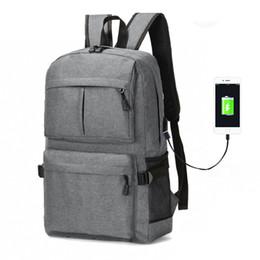 702a2d6f8 Large Capacity Men Laptop Backpacks Waterproof USB Charging Backpack School  Bags For Teenager Male Mochila Masculina Travel Bag