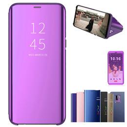 Samsung S6 Edge Mirror Case Australia - Mirror Flip Magnetic Case For iPhone 5 5S SE XS XR For Samsung Galaxy S8 S9 S6 S7 Edge Phone Cases For iPhone 7 8 Plus 6 6S X