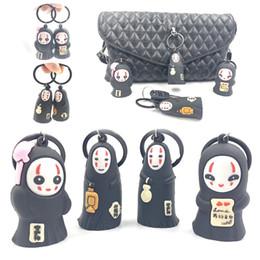 $enCountryForm.capitalKeyWord Australia - Creative new face Japanese and Korean cartoon 3D doll 3D key chain PVC soft plastic cute couple key chain pendant accessories