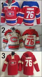 $enCountryForm.capitalKeyWord Australia - Factory Outlet, 2015 Free Shipp. Montreal Canadiens Cheap Ice Hockey Jersey Hoodie #76 P.K. Subban mens Hockey Hoodies  Hooded Sweatshirt