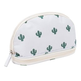 $enCountryForm.capitalKeyWord NZ - Portable Cosmetic Bag Double Layer Travel Makeup Pouch Bags Circular Woman Make Up Bag