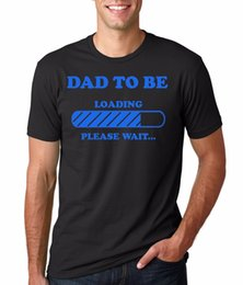 df7d1e54 Dad Maternity T-Shirt Gift For Future Father Tee Shirt T-shirt For Men  Summer Short Sleeve Fashion Custom Plus Size Group Tshirt