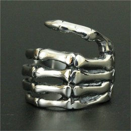 Men Size 15 Rings Australia - size 7-15 Support Dropship Claw Ring 316L Stainless Steel Jewelry Cool Men Punk Style Claw Ring