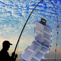 H Case Australia - HS-003 New 10 Compartments Storage Case Fly Fishing Lure Spoon Hook Bait Tackle Case Box Fishing Accessories Tools Wholesale 2018122213