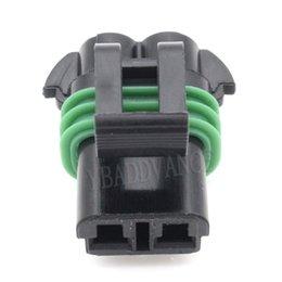 Delphi Wholesale Connectors Australia - 2 Pin Waterproof Electrial Delphi Pbt Gf30 Connector 15300027 For Fuel Pump Walbro GS450