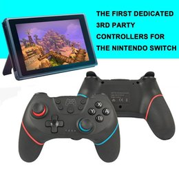 wireless pc gamepad controller UK - For Nintend Switch Pro NS-Switch Pro Game Console Gamepad Wireless-Bluetooth Gamepad Game joystick Controller Joypad