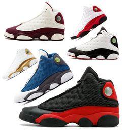 the best attitude 9afa7 90483 Xii schuhe online-Jumpman Air retro Jordan 13 13s Mens Basketballschuhe  gezüchtet Chicago Weizen XII