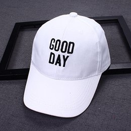 $enCountryForm.capitalKeyWord Australia - 2019 Good Day Embroidery 2-8 Years Old Solid Color Children Hip Hop Baseball Cap Summer Kids Sun Hat Boys Girls Snapback Caps