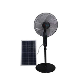 ECO Solar Fan 24000MAH 25W 10 gear Cooling Fan Electric Fans Air Cooler for Outdoor Home Office on Sale