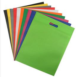 $enCountryForm.capitalKeyWord UK - 30x40cm New Reusable Non-woven Fabric Folding Shopping Bag For Promotion gift shoes chrismas Grocery Bags C19021301