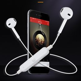 Wireless Sports Mp3 Australia - Sports Bluetooth Earphone Headset Wireless Headphone with Microphone Neckband Ear Hook Earbuds for Phone Samsung MP3 HTC
