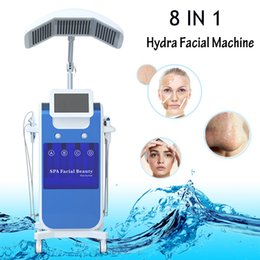 Home oxygen facial macHine online shopping - Professional hydra dermabrasion water peeling oxygen inject hydro machine for skin peeling Facial Rejuvenation salon or home use