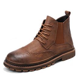 Venta al por mayor de Zapatos de senderismo casual de cuero de moda para hombre Zapatos impermeables de exterior para hombre Zapatos deportivos de alta calidad para hombre Botas de caza