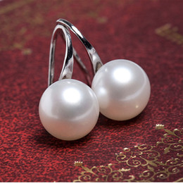 $enCountryForm.capitalKeyWord Australia - Delicate creative bijoux pearl earrings yiwu factory directly sale wholesale custom rhinestone earrings earrings for women
