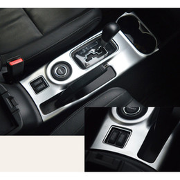 Wholesale ABS Chrome Water Cup Holder Gear Shift Trim For Mitsubishi Outlander