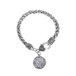 Lobster Claw Necklace Australia - lemegeton Fahion Vintage Animal Jewelry Unicorn Wolf Eagle Pegasus Horse Pendant Necklace For woman men Gift