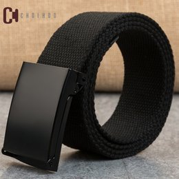 Wholesale Choihoo cm long big size new nylon material mens belt outdoor male jeans tactical belts for men luxury