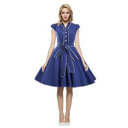 Amazon Ebay Europe hot sale 2019 new dress Europe station size dress  Hepburn retro dress 5ccee9996375