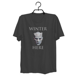 China The Night King- Men's NEW Game of Thrones - Season 7 T-Shirt Free Shipping Funny free shipping Tshirt top cheap game thrones season suppliers