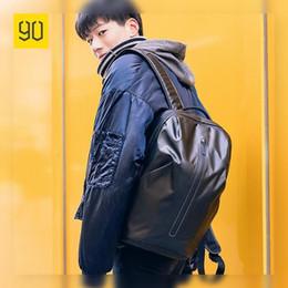 Orange Glitter Australia - Xiaomi Ecosystem All Weather Upgraded Backpack Fashion Waterproof Bag Travel College School Bussiness ,Black Orange Red