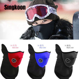 mask face shield Australia - Motorcycle Face Mask Warmer Windproof Breathable Paintball Cycling Ski Shield Anti-UV Sun Hats Helmet Protecting Mask