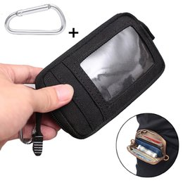 $enCountryForm.capitalKeyWord NZ - Tactical Wallet Card Bag Waterproof Card Key Holder Money Pouch Pack Outdoor Multifunction Wallet Waist Bag for Hunting
