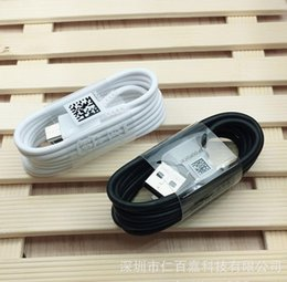 $enCountryForm.capitalKeyWord Canada - 100pcs lot 100% Original 1.2m Micro USB Data Sync Charger Cable For Samsung S7 Edge s5 S6 note 4 5