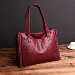 Discount ladies handbags big size - Chu Jj High Quality Genuine Leather Women's Handbags Fashion Big Size Women Tote Bags Women Messenger Bags Ladies S