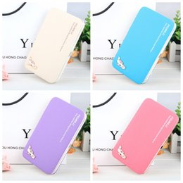 Easy card wallEt online shopping - High Heeled Shoes Wallet Pure Color With Rope Pencil Case Leather Handbag Card Holder Easy To Carry Hot Sale zxH1