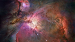 Single Telescope NZ - Orion Nebula Hubble Space Telescope Art Silk Print Poster 24x36inch(60x90cm) 018