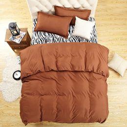Green Patchwork Bedding Australia - HMOCNV 4 Pcs set Duvet Cover+Fitted Bed Sheet+Pillowcase Flat Bedding Collection(1.6x2.1m,purple)