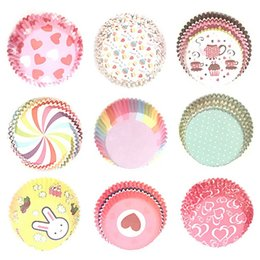 $enCountryForm.capitalKeyWord Australia - 100Pcs Set Muffin Cupcake Paper Cups Cake Forms Cupcake Liner Baking Muffin Box Cup Case Party Tray Cake Mold Decorating Tools