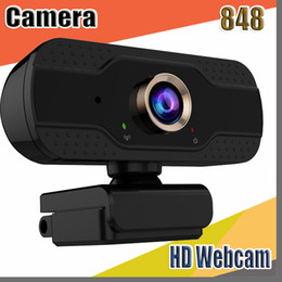 built computers NZ - 848 hot Full HD 1080P USB Webcam Built-in Mic High-end Video Call Computer Peripheral Web Camera For Microsoft Youtube PC Laptop