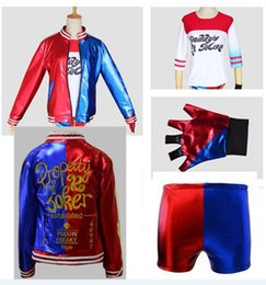$enCountryForm.capitalKeyWord Australia - Suicide squad COS Halle Quinn Harley Quinn clown female cosplay costume authentic spot style a variety of clown female cosplay
