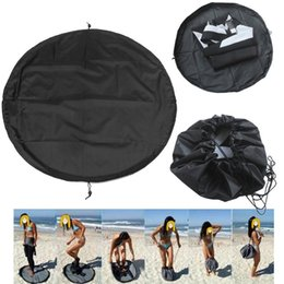 Dive Suits Wholesale NZ - Surfing Wetsuit Diving Suit Change Bag Mat Waterproof Nylon Carry Pack Pouch for Water Sports Swimming Accessories