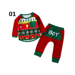 matching mommy girl clothes UK - INS Christmas mommy and daughter matching outfits family matching outfits baby suits kids designer clothes baby clothes baby romper A7078