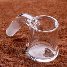 glass nail banger 2019 - Quartz Evan Shore Banger beveled edge banger 10mm 14mm 18mm Male Female domeless nails Evanshore Banger for glass bongs
