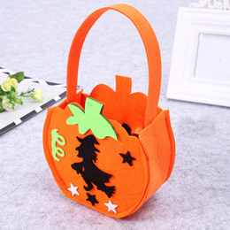 $enCountryForm.capitalKeyWord Australia - Designer-Halloween candy bag little purse pumpkin candy hand bag mini purses childern Halloween purses candies bags